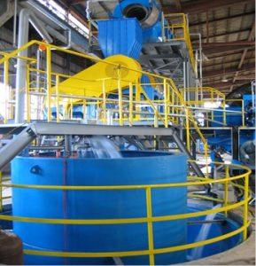 農業用ビニール破砕洗浄リサイクルプラント2